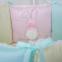 Детский набор из 7 предметов ТМ Маленькая Соня Зайчики розовый 2