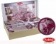 Постельное белье ТМ Hobby Exclusive Sateen Romina розовое евро-размер 2