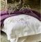 Постельное белье ТМ Karaca Home ранфорс Shale Lila евро-размер 2