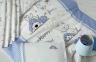 Детский постельный комплект с вышивкой ТМ Luoca Patisca Happy 0