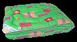 Одеяло стандарт ТМ Leleka-Textile Эконом-стандарт радуга 3