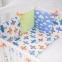 Бортик в кроватку с простыней ТМ Маленькая Соня Baby Design Премиум Самолеты 1