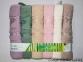 Набор полотенец из 6 штук Cestepe maxisoft Bamboo Kelebek 0