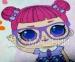 Подростковое постельное белье ТМ Selena бязь Куклы Lol 110210 6