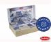 Постельное белье ТМ Hobby Exclusive Sateen Antonia синий евро-размер 1