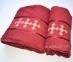 Набор полотенец из хлопка Merzuka бордовый 4