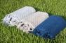 Полотенце махровое ТМ Buldans Cakil серый 50х90 0