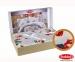 Постельное белье ТМ Hobby Exclusive Sateen Lavida красное евро-размер 2