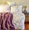 Постельное белье ТМ Karaca Home ранфорс Shale Lila евро-размер 0