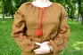 Вышиванка женская Фантазия оливковая 1033 1