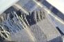 Плед шерстяной ТМ Vladi Уют NEW сине-серый 1