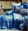 Постельное бельё ТМ Karaca Home сатин Sahra Turkuaz евро-размер 1