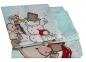 Детский постельный комплект ТМ Hobby Snowball мятный 0