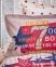 Подростковое постельное бельё ТМ Karaca Home Peace Bordo 1