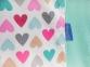 Детский набор из 7 предметов ТМ Маленькая Соня Бэби дизайн Разноцветные сердечки 5