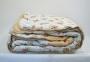 Одеяло зимнее шерстяное стеганое ТМ Vladi цветное 7
