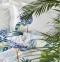 Постельное белье ТМ Karaca Home ранфорс Palm Yesil евро-размер 0