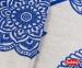Постельное белье ТМ Hobby Exclusive Sateen Antonia синий евро-размер 2