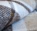 Плед полушерстяной ТМ Vladi Метро бежево-коричневый 8