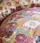 Постельное белье ТМ Karaca Home ранфорс Alambra Turuncu евро-размер 1