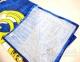 Полотенце велюровое пляжное Турция Real Madrid 2 75х150 см 2
