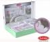 Постельное белье ТМ Hobby Poplin Sonia розовое полуторное 1