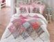 Постельное бельё ТМ Cotton Box ранфорс Natali Pembe евро-размер 0