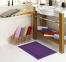 Полотенце для ног ТМ Hobby Hayal фиолетовое 50х70 0