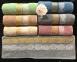 Набор полотенец из 6 штук ТМ Gursan Cotton Geo 1