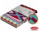 Постельное белье ТМ Hobby Poplin Francesca бордовое евро-размер 0