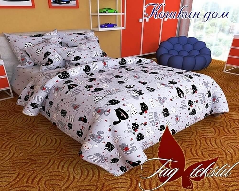 Подростковый постельный комплект ТМ TAG Кошкин дом купить в Киеве в ... dec8183cd2054