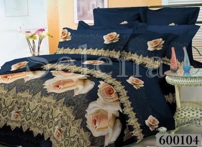 Постельное белье ТМ Selena Лилея поликоттон Розы 600104