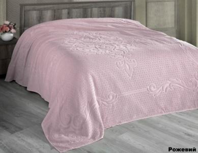 Простынь махровая ТМ Arya Foli розовая