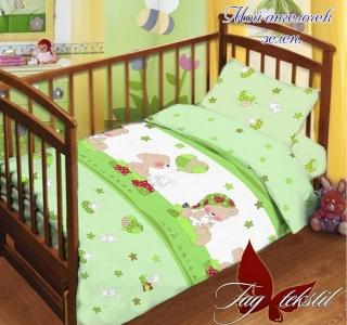 Детский постельный комплект ТМ TAG Мой ангелочек зеленый