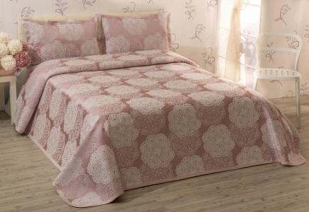 Покрывало с наволочками ТМ Tropik home Roseum Pink 220х230