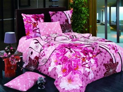 Постельное белье ТМ Nostra сатин 20-1332 Pink (20-1333 Pink)