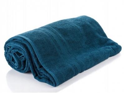 Простынь махровая ТМ Bella Donna синего цвета