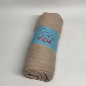 Простынь на резинке с наволочками ТМ Fida Almari трикотажная kahve