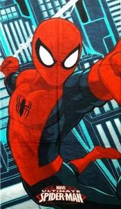 Полотенце велюровое пляжное Турция Spider-Man 2 75х150