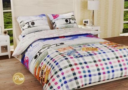 Подростковое постельное белье ТМ Лелека Текстиль ранфорс R189