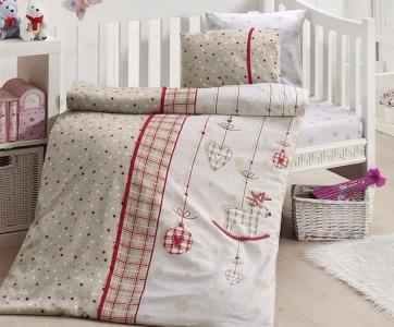 Детский постельный комплект ТМ First Сhoice Palmy Kirmizi