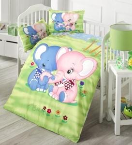 Детский постельный комплект ТМ LightHouse Elephants