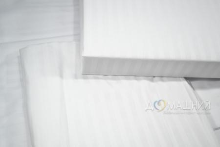 Пододеяльник ОПТ ТМ Вилюта сатин Дамаск-страйп белый