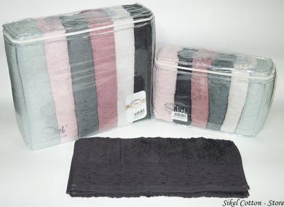 Набор полотенец из 6 штук ТМ Sikel Cotton Store
