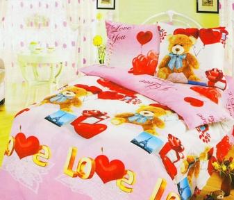 Подростковый постельный комплект ТМ ТOP Dreams Сюрприз