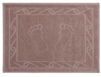 Полотенце для ног ТМ Hobby Hayal бежевое 50х70