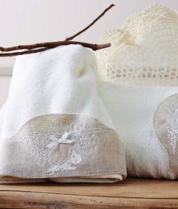Набор махровых полотенец из 2шт ТМ Karaca Home Clara