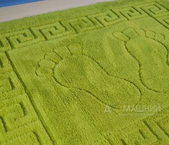 Коврик прорезиненный для ванной ТМ Mariposa 50х70см зелёный