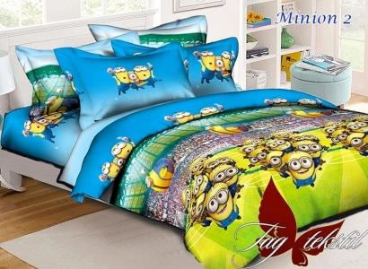 Подростковый постельный комплект ТМ TAG ранфорс Minion 2