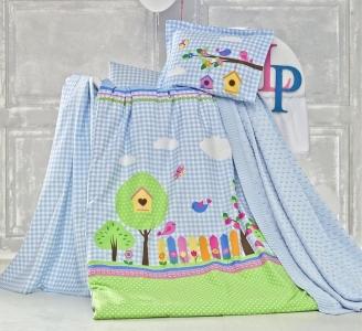 Детский постельный комплект ТМ Luoca Patisca Garden